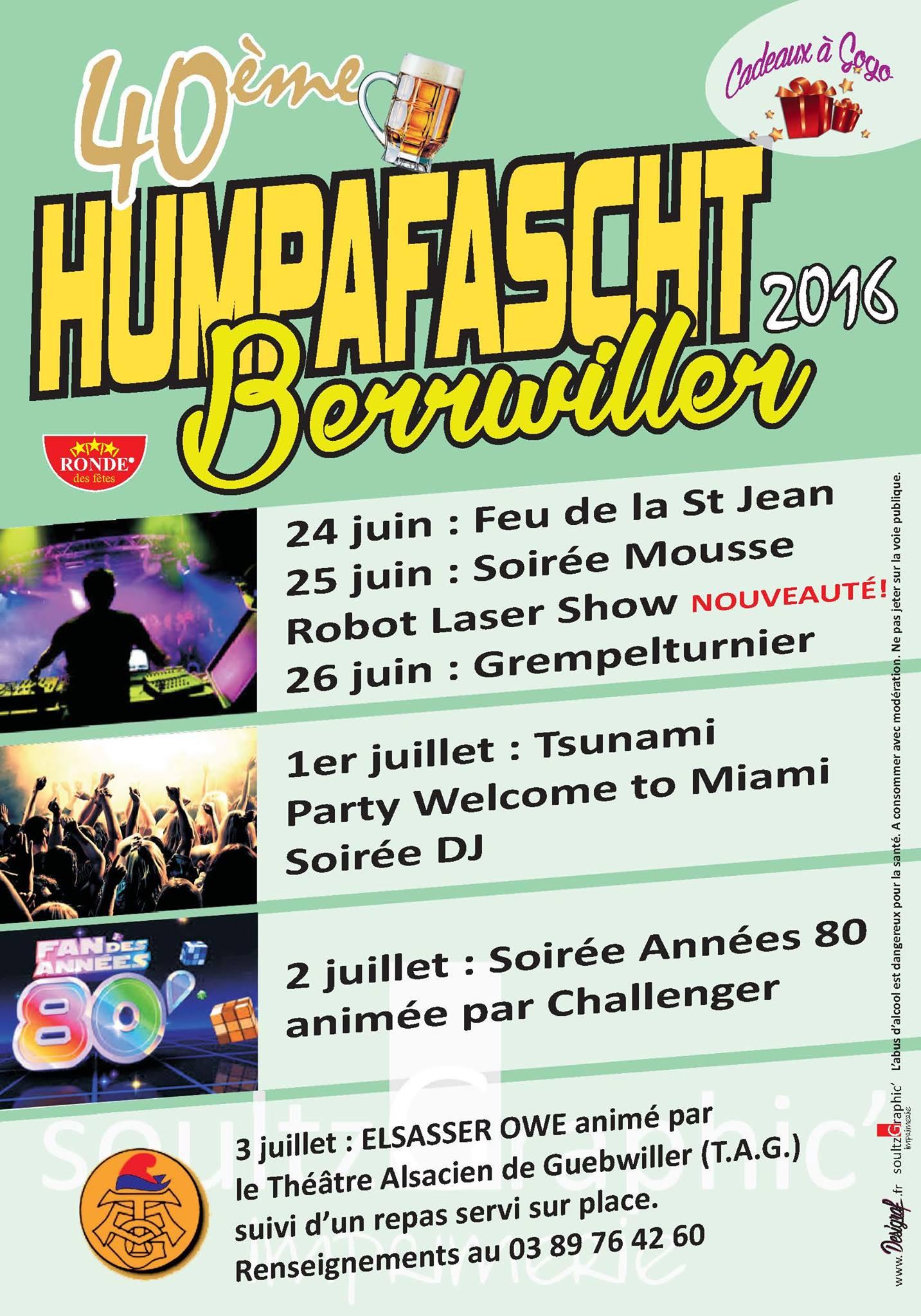 40 eme Humpafascht 2016