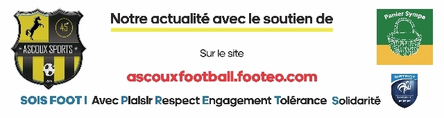 Ascoux sports football : site officiel du club de foot de ASCOUX - footeo