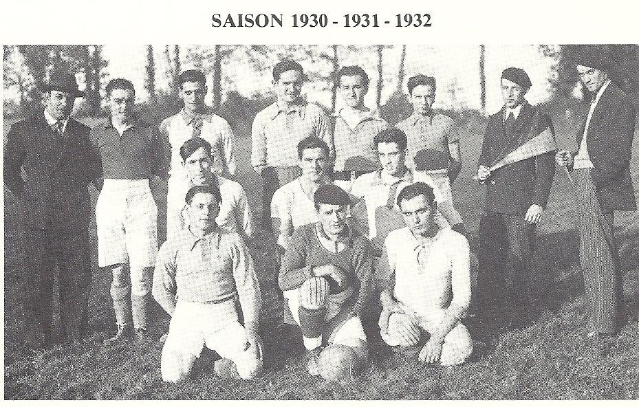 Equipe 1 en 1930-1931-1932