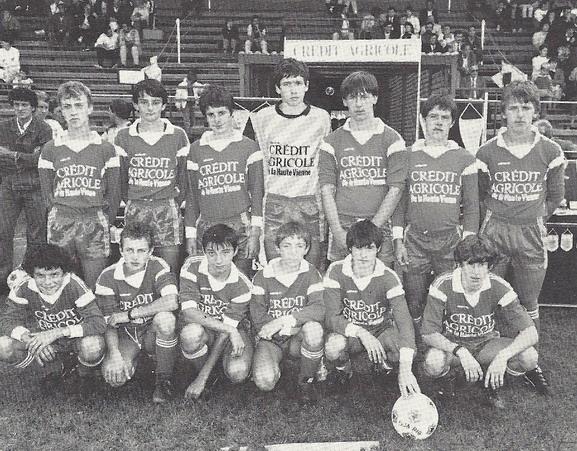 Equipe cadet 1986-1987