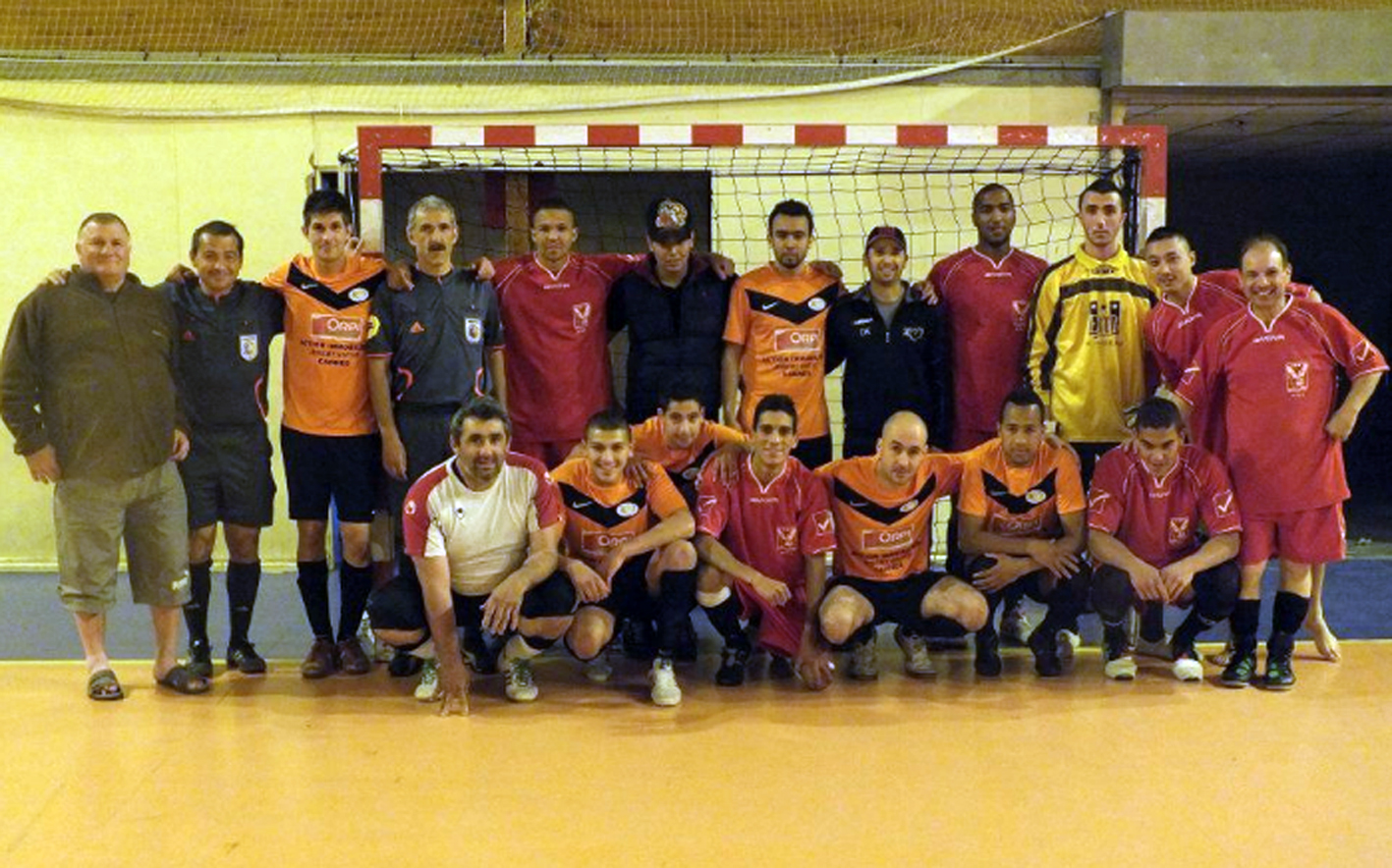 Cannes futsal vs F.C. Fellow