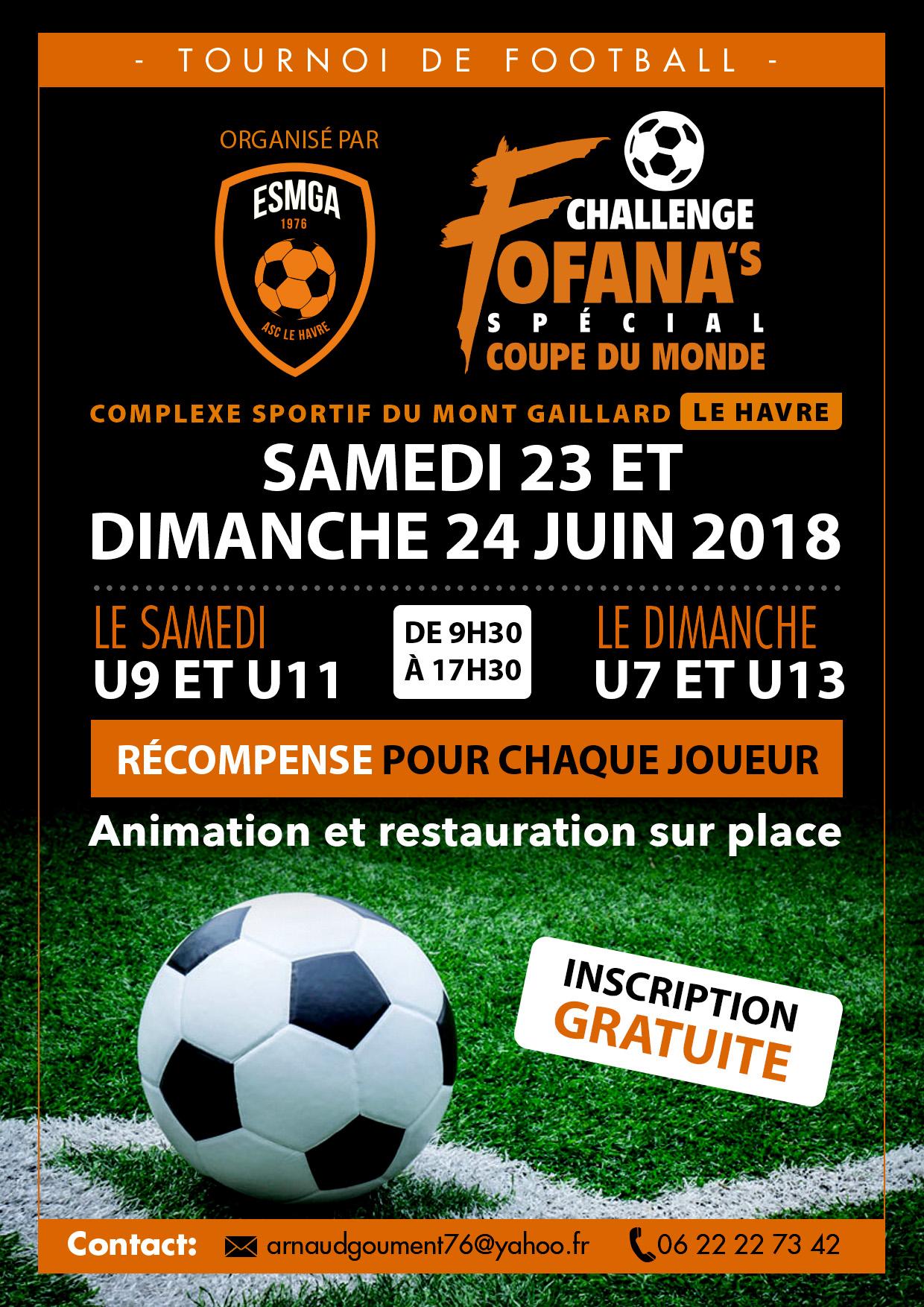 Affiche Challenge Fofana's 2018