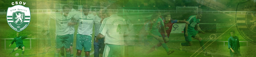 CSOV SECTION FOOT : site officiel du club de foot de ORBEC - footeo