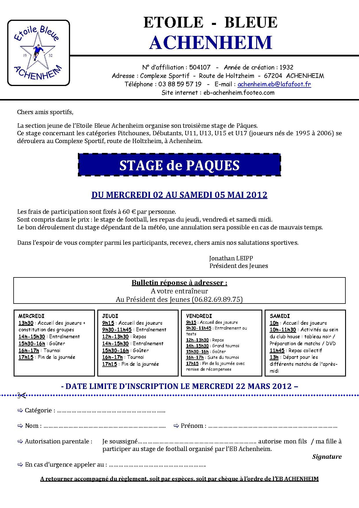 EBA   Invitation Stage 2012