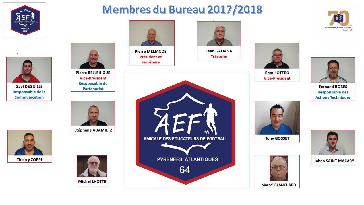 Organigramme AEF 64