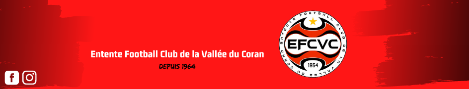 Entente Football Club de la Vallée du Coran : site officiel du club de foot de ST CESAIRE - footeo