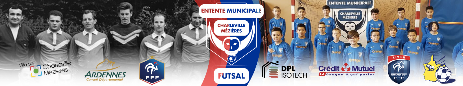 ENTENTE MUNICIPALE DE CHARLEVILLE MEZIERES : site officiel du club de foot de CHARLEVILLE MEZIERES - footeo