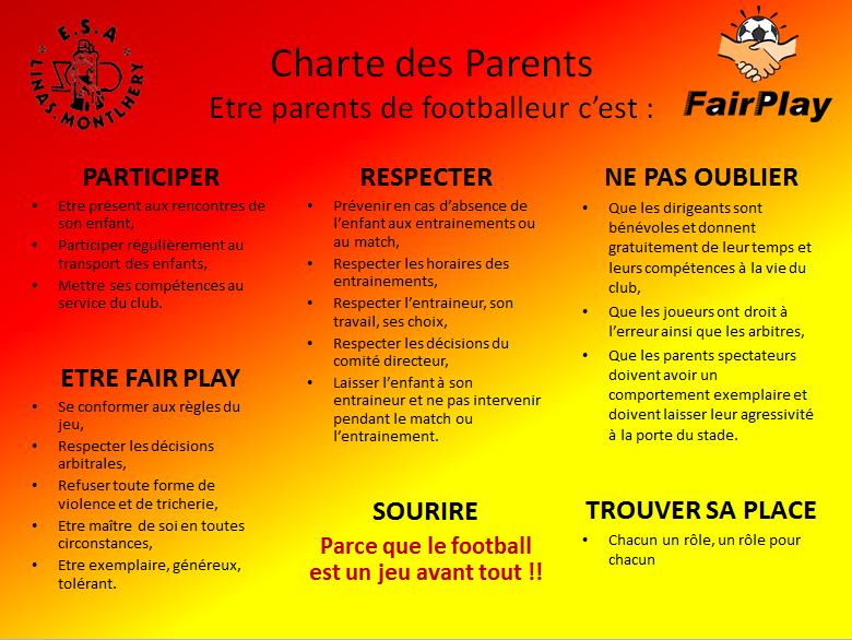Charte des parents