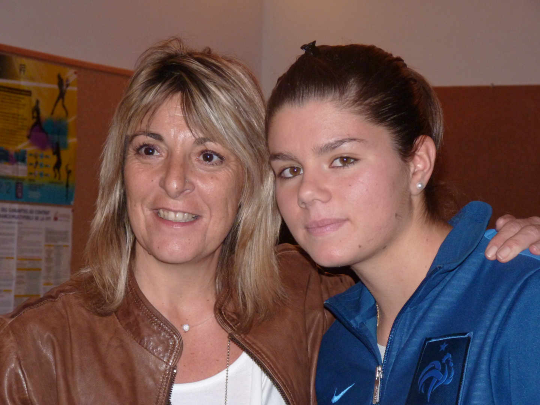 Sylvie Valat et Laurie Saulnier