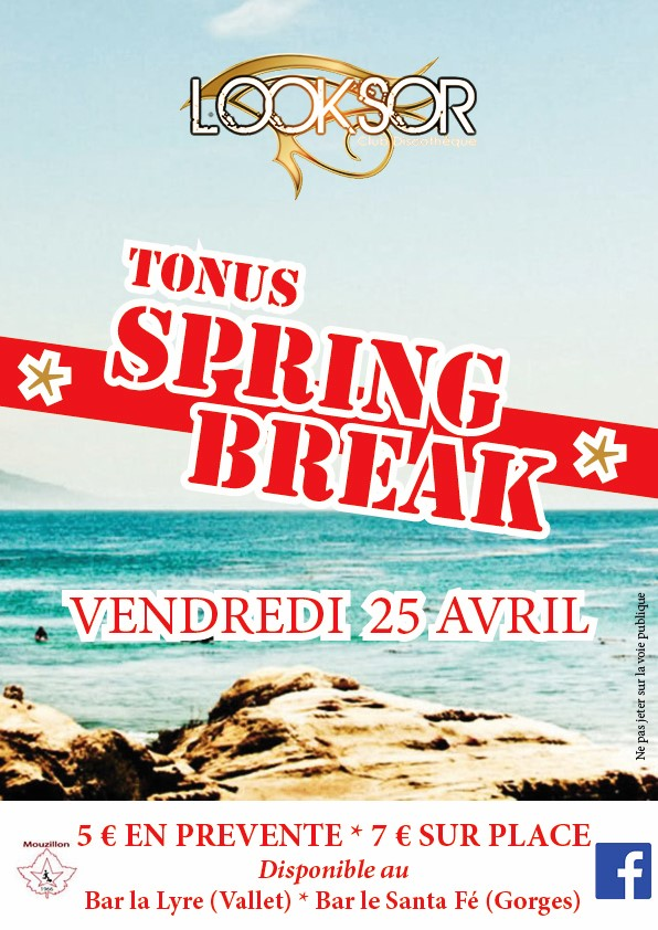 Affiche Spring Break