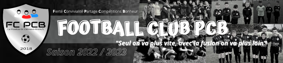 Football Club Poueze St Clem Brain : site officiel du club de foot de La poueze - footeo