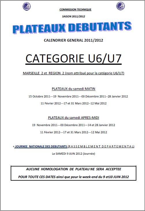 Plateau-U6-U7-date