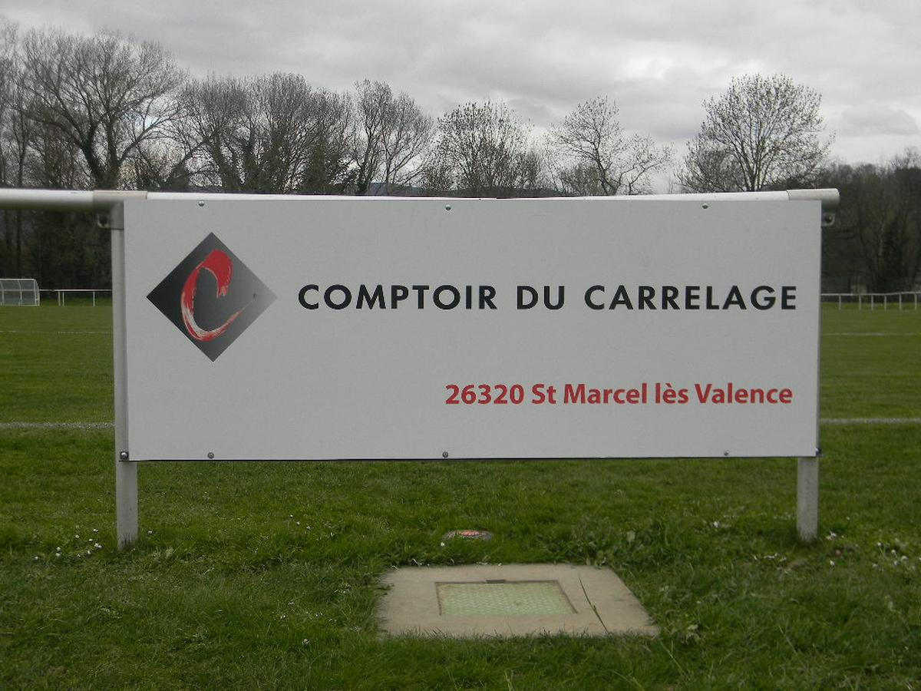 Au Comptoir Du Carrelage comptoir du carrelage - club football football club chabeuil