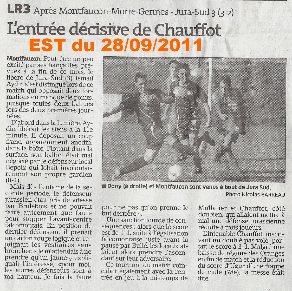 EST du 28/09/2011