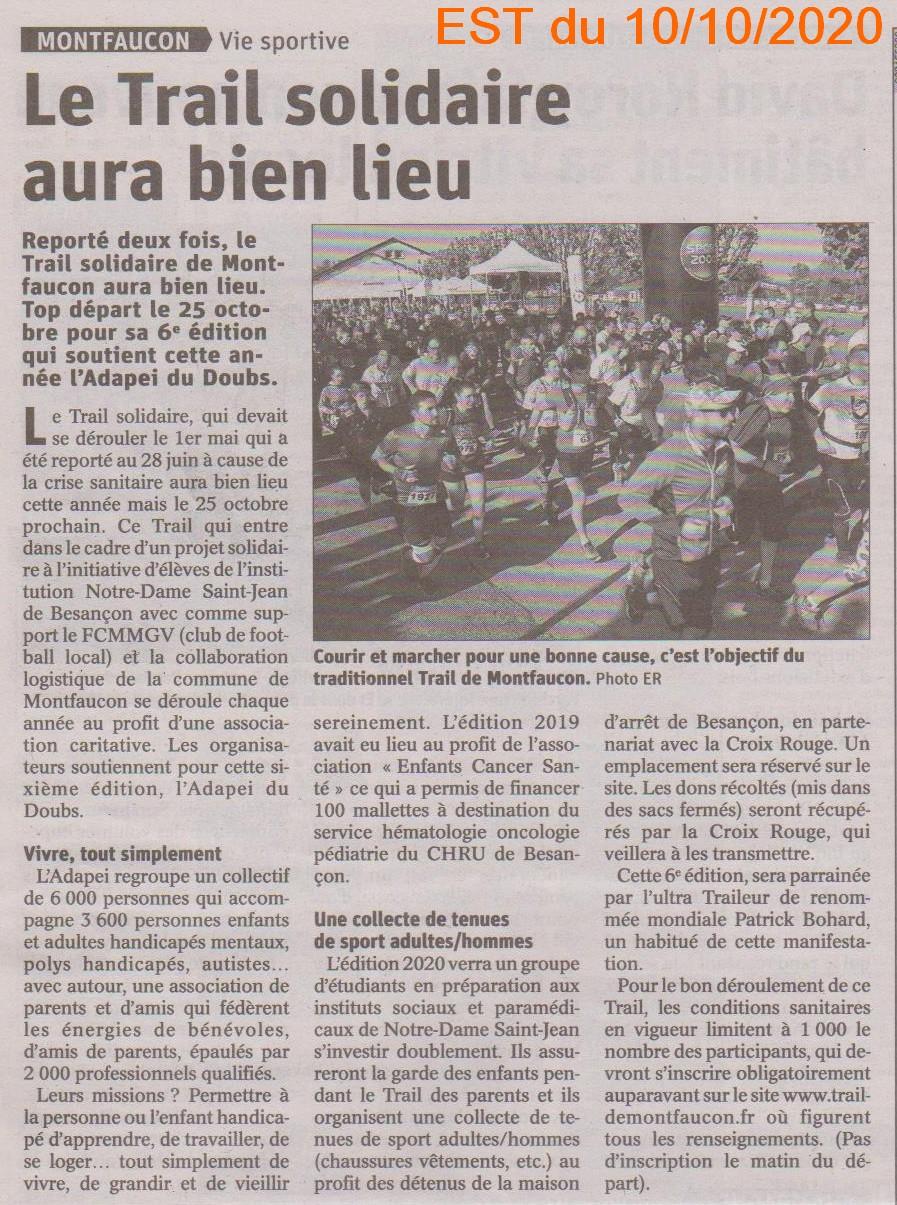 2020-10-10 - Trail solidaire de Montfaucon 001