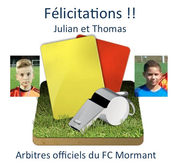 arbitres FCM