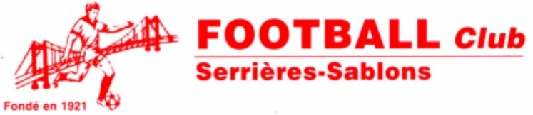 FC Serrières Sablons : site officiel du club de foot de Sablons - footeo