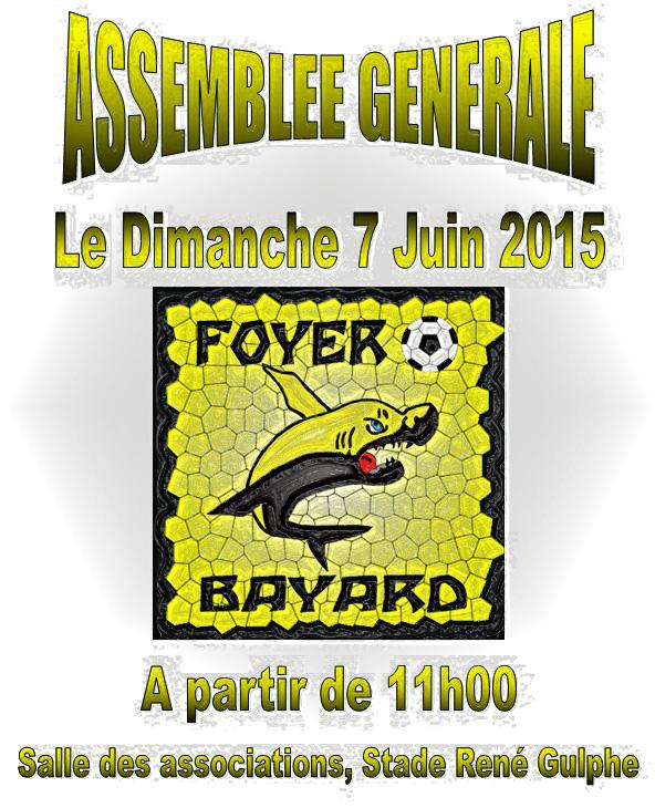 Assemblée générale 2015 le Dimanche 7 Juin 2015