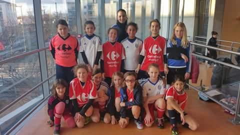 U11 F tournoi FC Vaulx