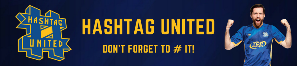 Hashtag United : official website of London football club - footeo