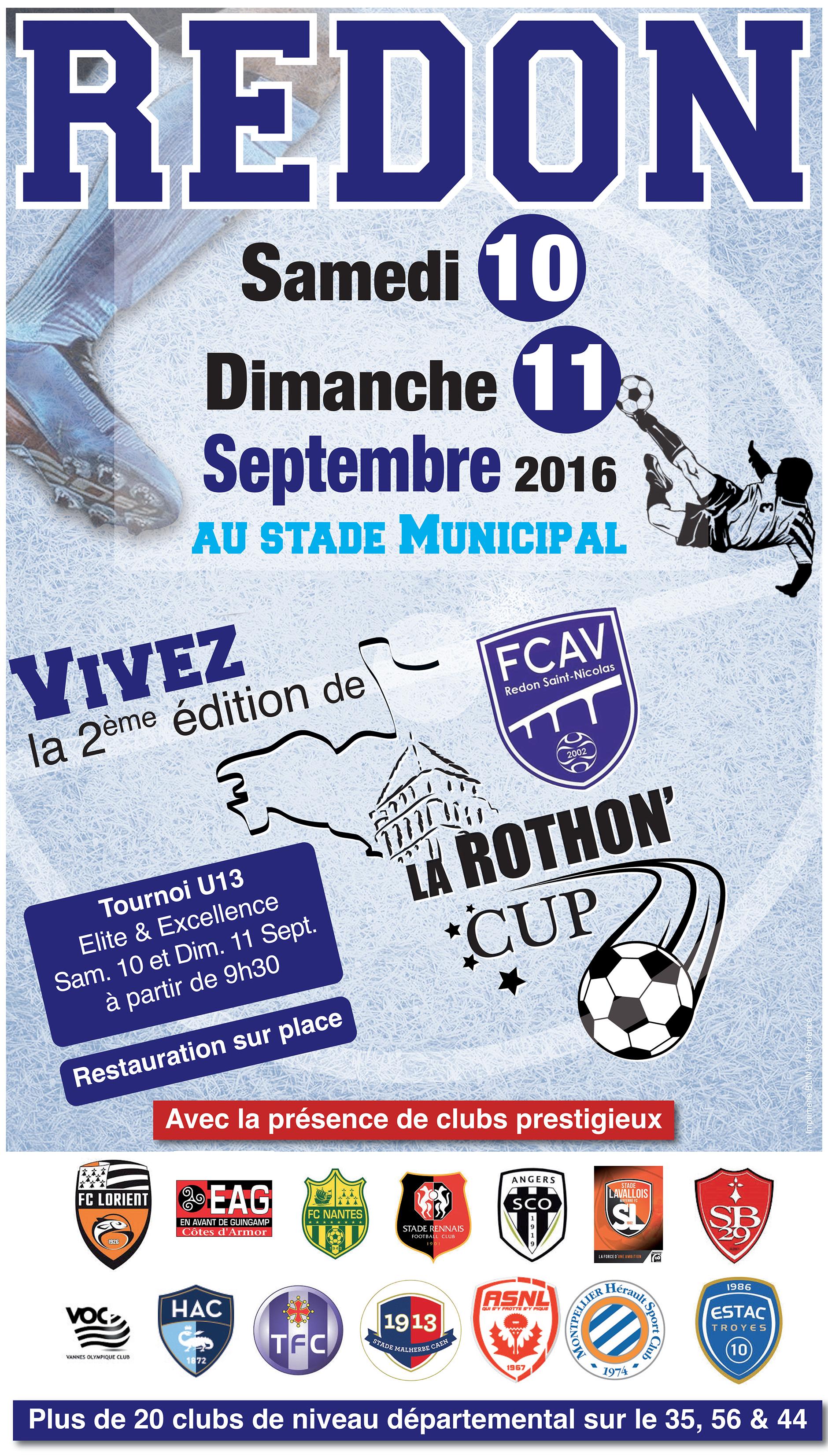 La Rothon'Cup 2016