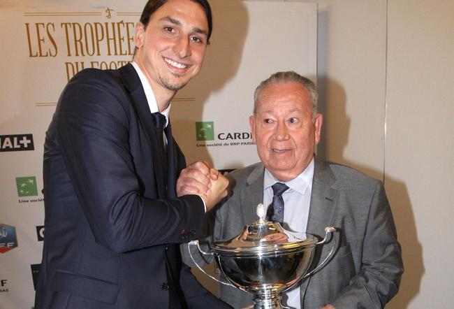 Just Fontaine avec Zlatan Ibraimovich