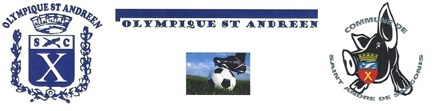 OLYMPIQUE ST ANDRE : site officiel du club de foot de ST ANDRE DE SANGONIS - footeo