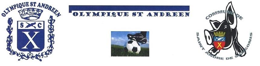 OLYMPIQUE ST ANDRE : site officiel du club de foot de ST ANDRE DE SANGONIS - footeo