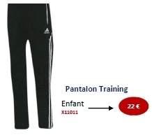 Pantalon training ADIDAS