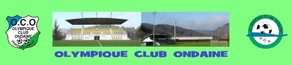 Olympique Club Ondaine  : site officiel du club de foot de FRAISSES - footeo
