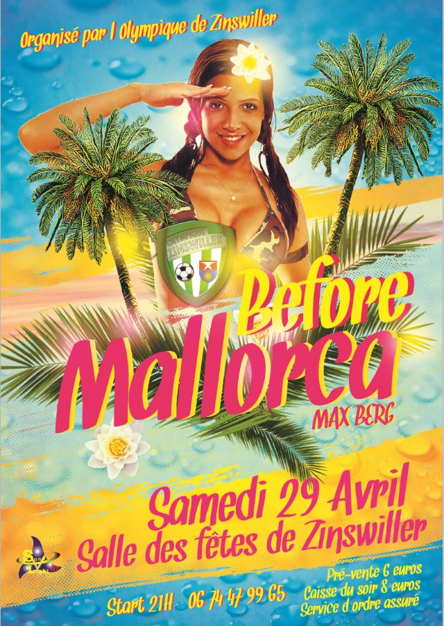 BEFORE MALLORCA, Samedi 29 avril 2017