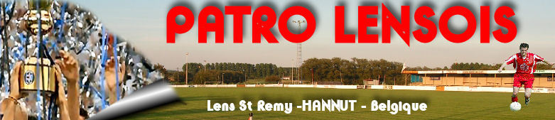 PATRO LENSOIS : site officiel du club de foot de Hannut - footeo