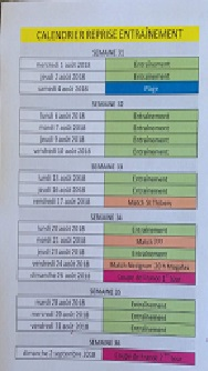 Programme reprise senior