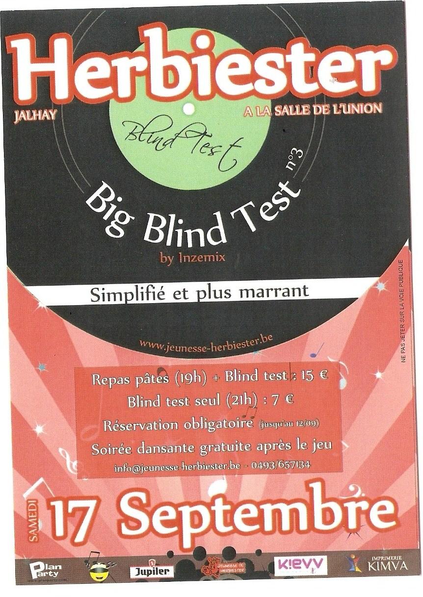 Blind test 17/9/11