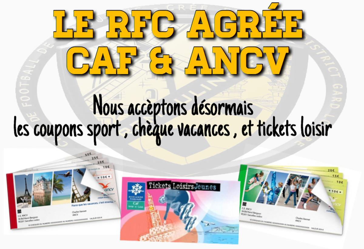 Actualite Le Remoulins Fc Agree Caf Ancv Club Football
