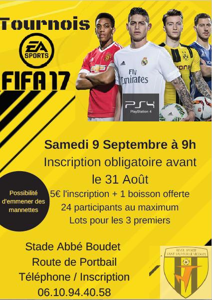 Affiche tournoi fifa