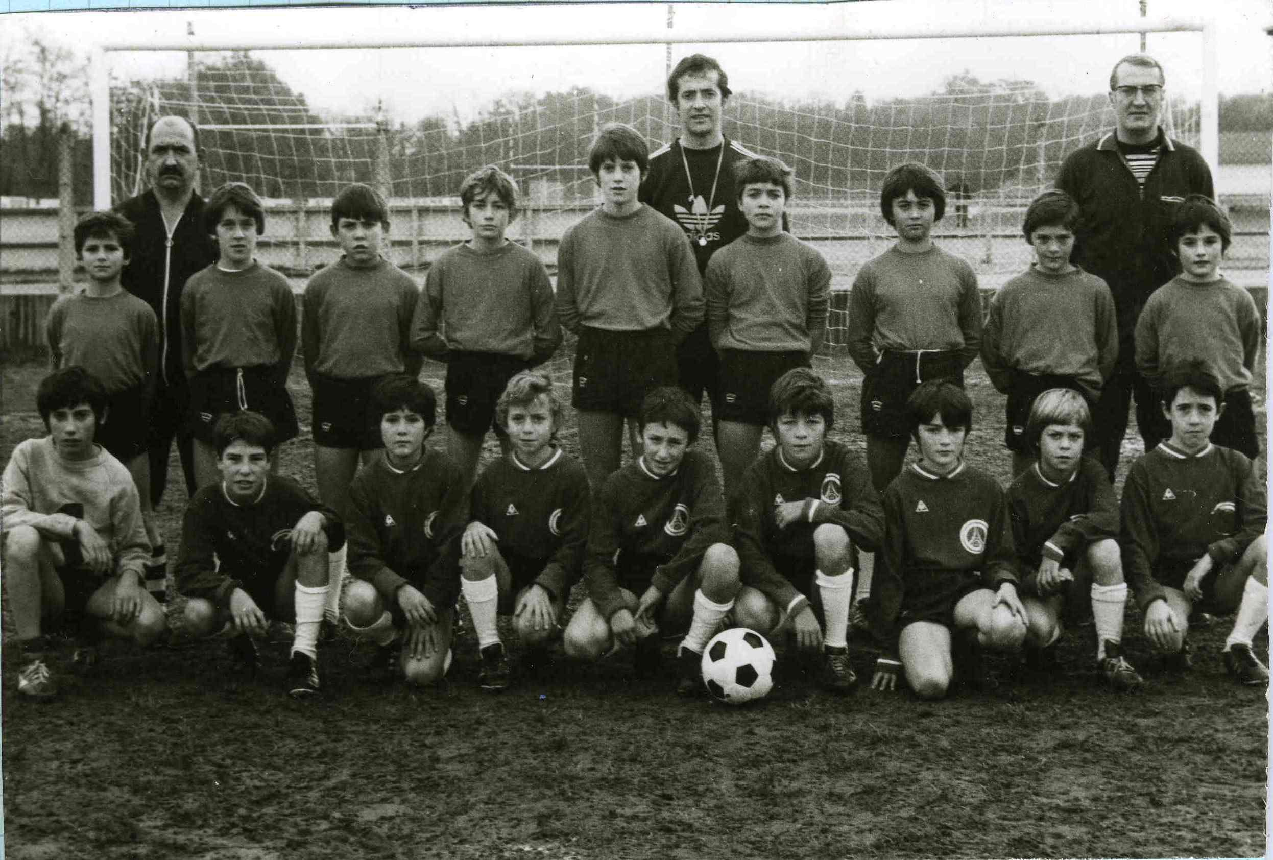Equipe pupille de 1974