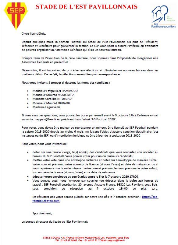 Elections bureau 2020