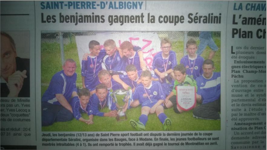 Coupe de Savoie U13 2014