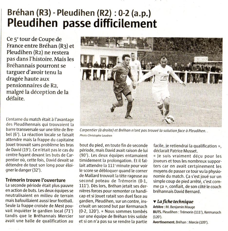 article télégramme coupe de France 5eme tour.jpg