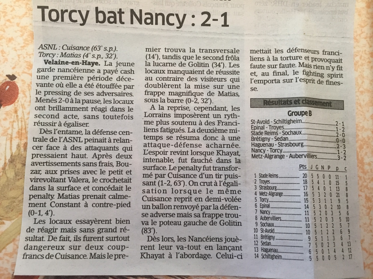 Torcy bat Nancy