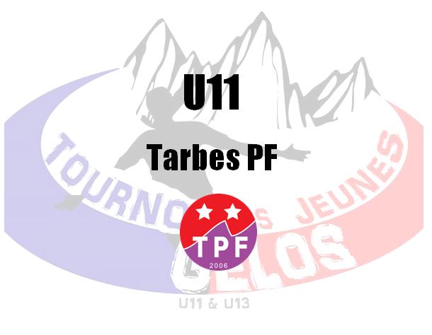 U11 : Tarbes PF