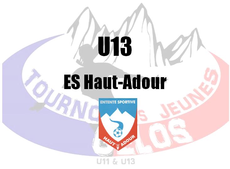 U13 : ES Haut-Adour