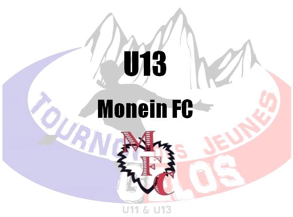 U13 : Monein FC