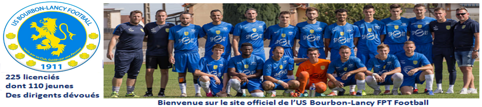 US Bourbon-Lancy FPT Football : site officiel du club de foot de BOURBON-LANCY - footeo