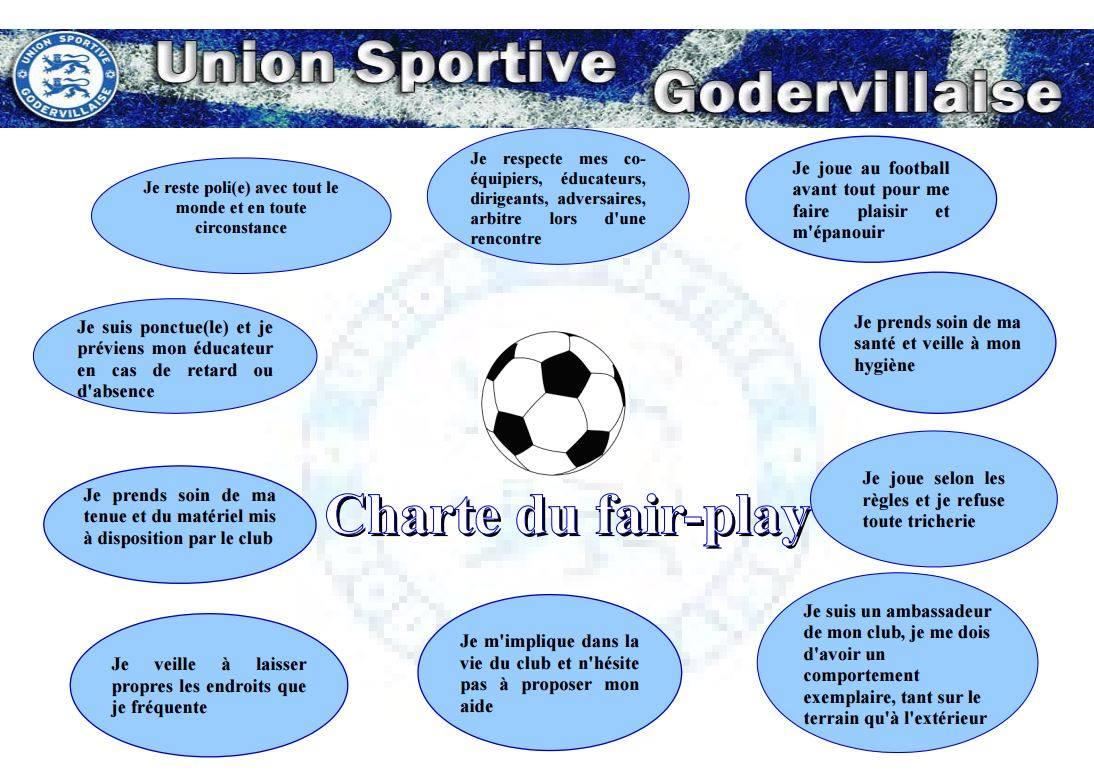 charte éthique école de football