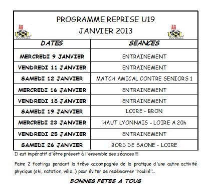 Reprise 2013 U19