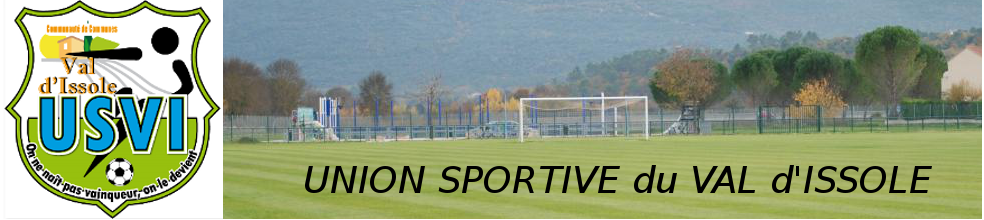 Union Sportive du Val d'Issole : site officiel du club de foot de GAREOULT - footeo